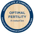 Optimal Fertility Badge