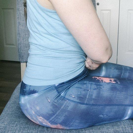 aligned sitting - less tailbone pain